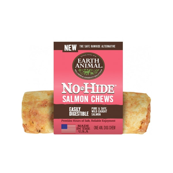 "No Hide Salmon Chew, 4"" x 1"