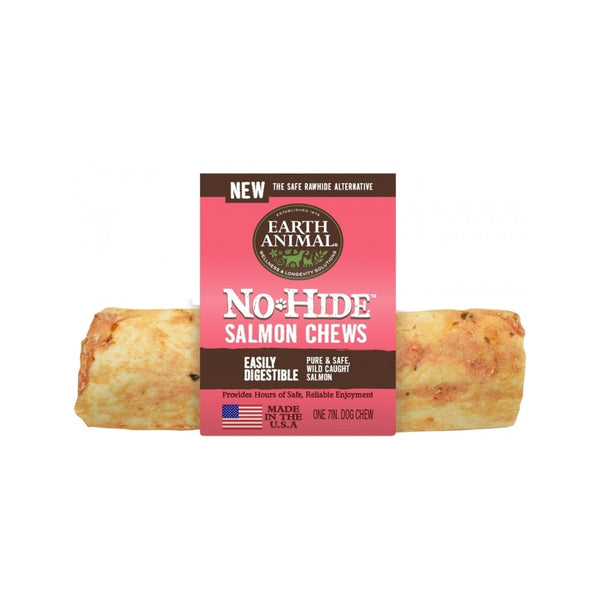 "No Hide Salmon Chew, 7"" x 1"