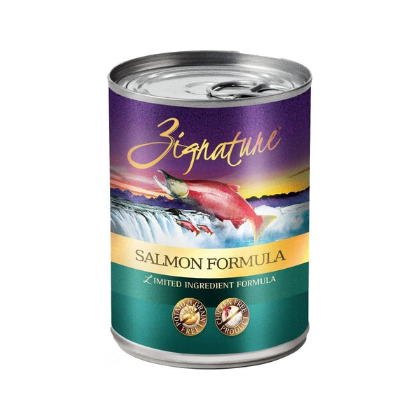 Salmon LID Canned Formula Weight : 13oz