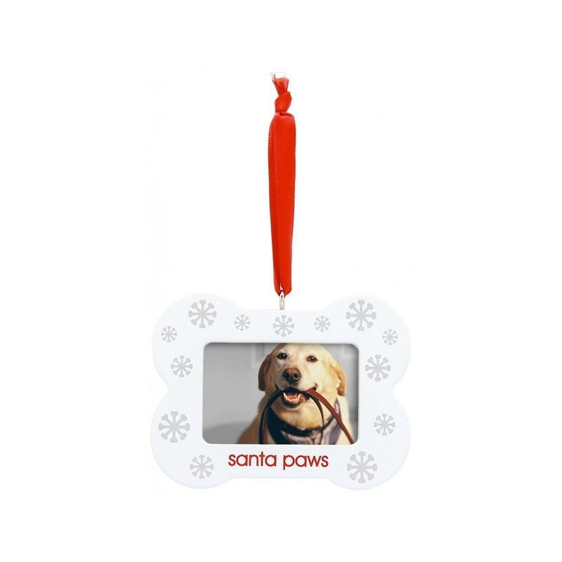 Santa Paws Ornaments - Bone Shaped