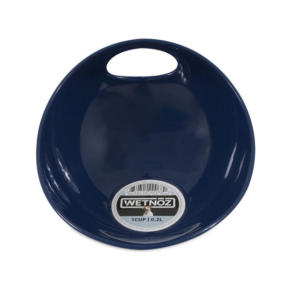 Wetnoz Small Scoop Bowl, Color: Navy, 1 Cup
