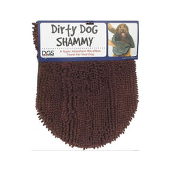 Dirty Dog Shammy Towel, Color: Brown