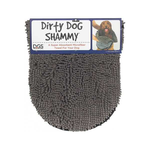 Dirty Dog Shammy Towel, Color: Grey