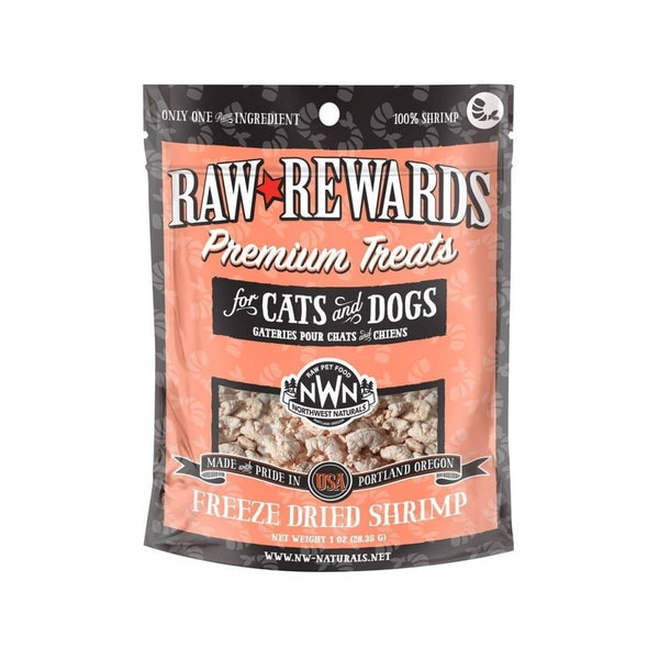 Treats - Freeze Dried Shrimp, 1oz