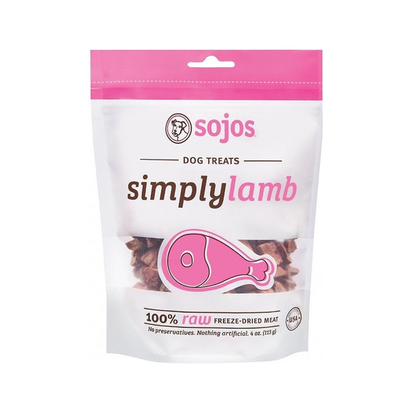 Simply Freeze Dried Lamb, 4oz