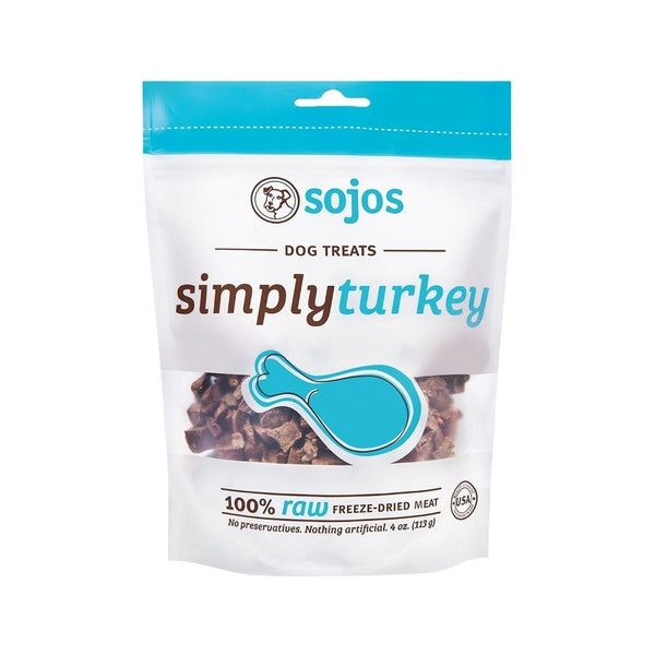 Simply Freeze Dried Turkey Dog Treats, 4oz