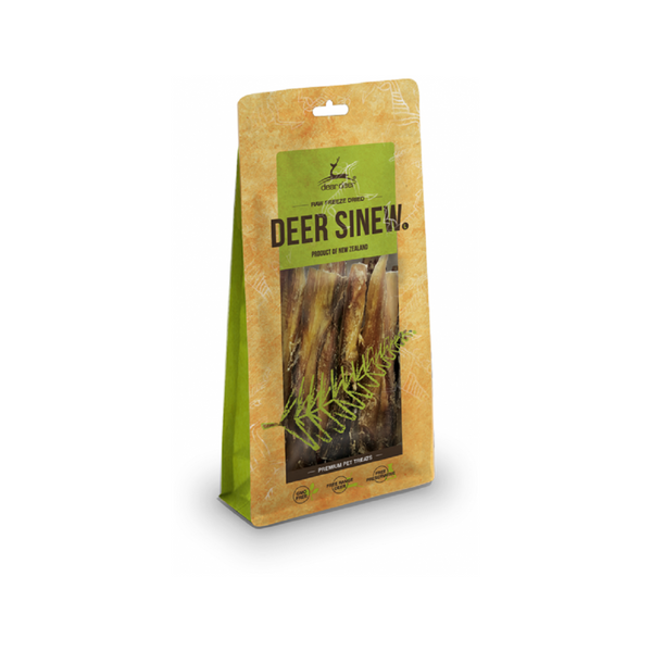 Deer Sinew Treats for Dogs Size : Small Weight : 75g