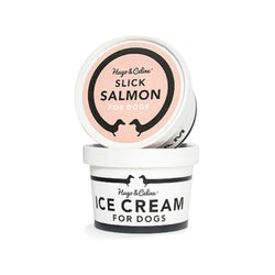 Frozen Slick Salmon Ice Cream for Dogs Weight : 120g ( 3 cups minimum can assort flavors)