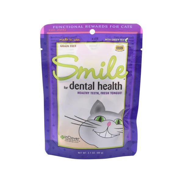 Smile Dental Soft Chews for Cat, 2.1oz / 60 Count