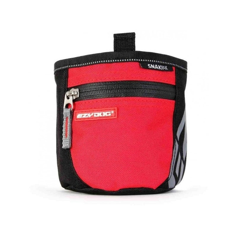 SnakPak Treat Bag, Color: Red