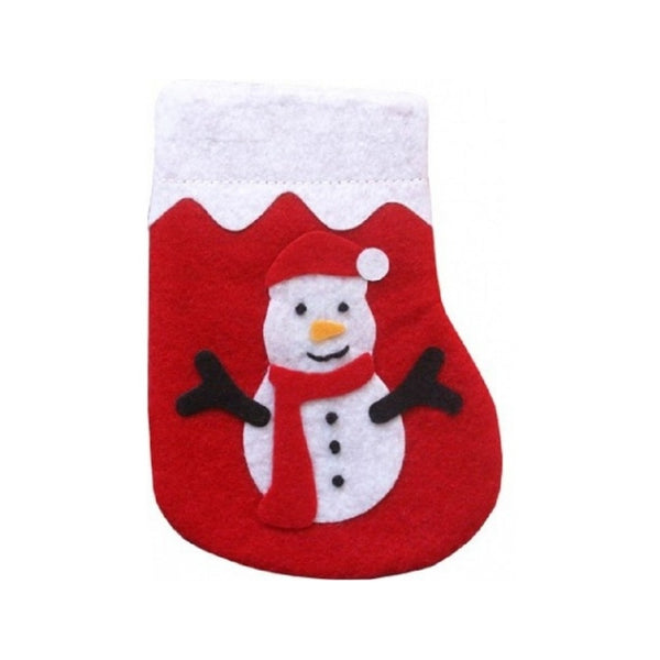 Snowman Stocking w/ Catnip Color : assorted