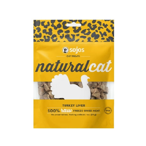 100% Natural Turkey Liver Cat Treats, 1oz