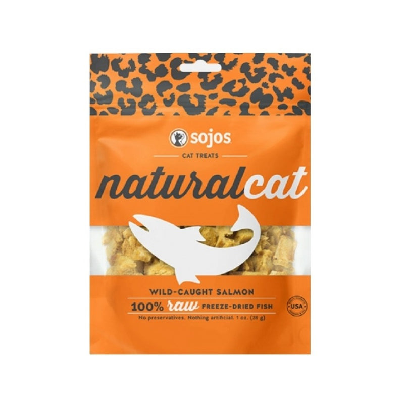 100% Salmon Cat Treats Weight : 1oz
