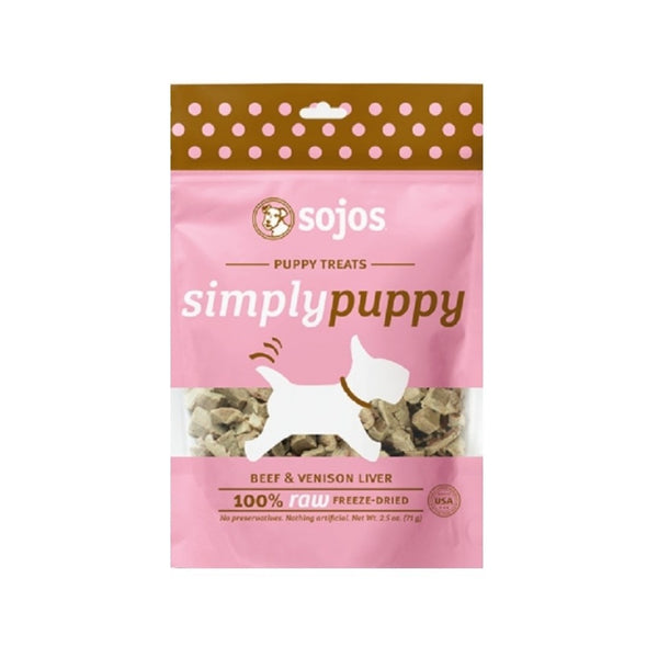 Beef & Venison Puppy Treats, 2.5oz