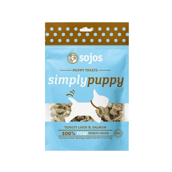 Turkey Liver & Salmon Puppy Treats, 2.5oz