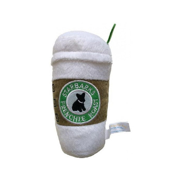 Starbarks Coffee Squeak Toy, Mini