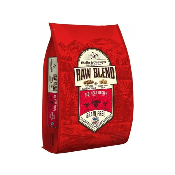 Raw Blend Red Meat Recipe Dry Dog Food, 22lb