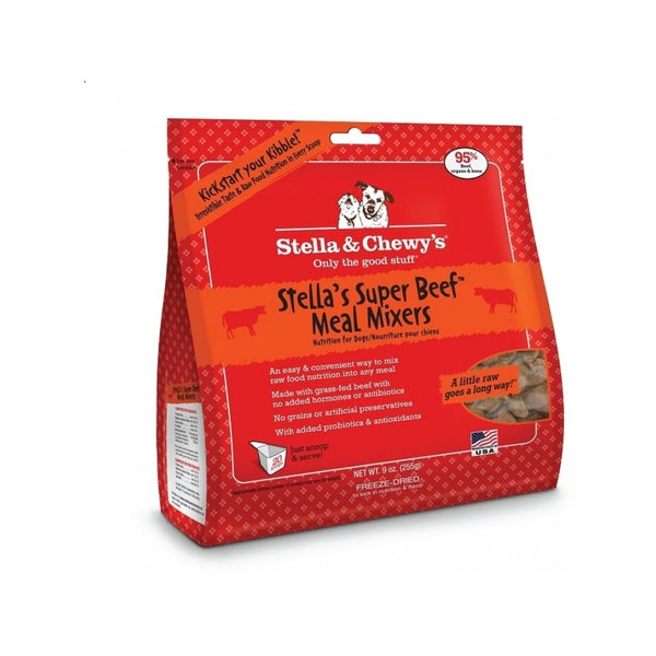 Freeze Dried Raw Meal Mixer Beef, 3.5oz