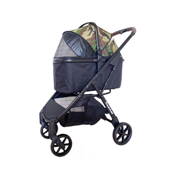 Eco Liona Pet Stroller, Color: Camouflage