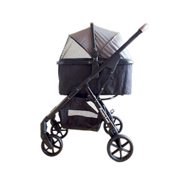 Eco Liona Pet Stroller, Color: Silver Grey