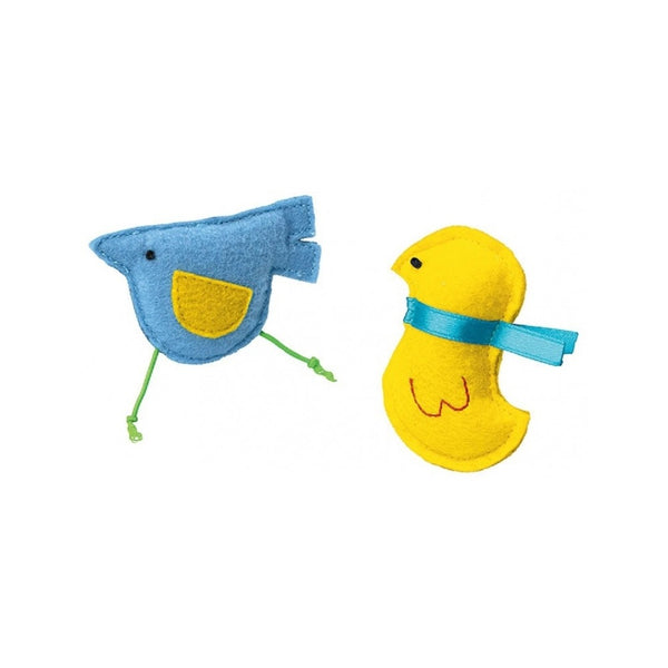 Summer Birds Cat Toy Set