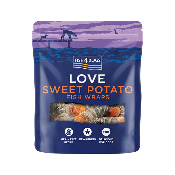 Treats - Sea Wraps Fish & Sweet Potato 100g