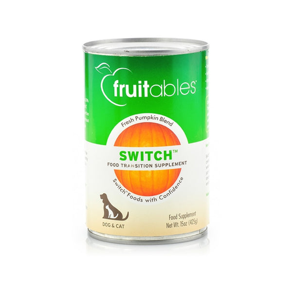 Switch Fresh Pumpkin Blend Food Transition Supplement, 15oz