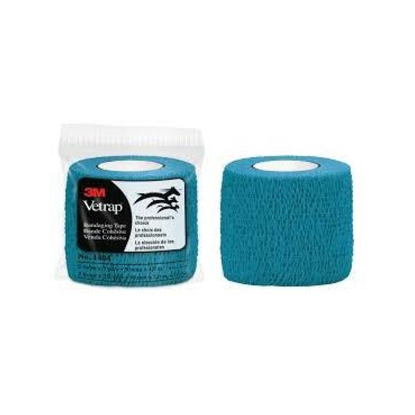 Vetrap Bandaging Tape, Color Teal, 2""