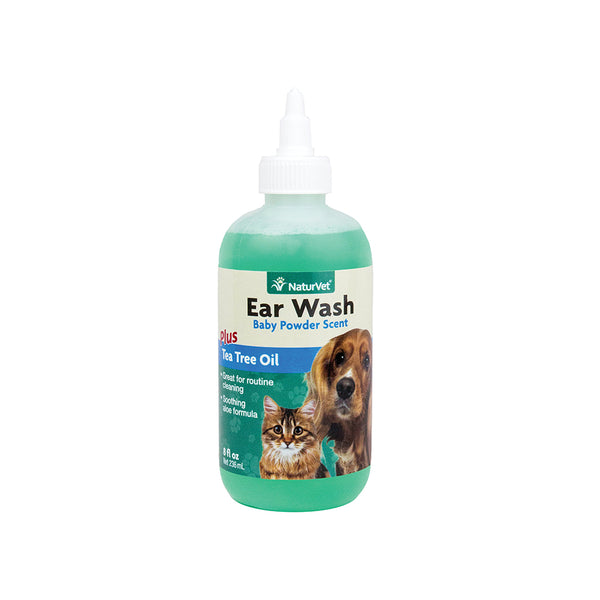 Ear Wash with Tea Tree Oil, 4oz