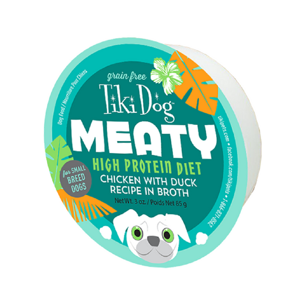 Meaty Dog Bowl - Chicken w/Duck Weight : 3oz