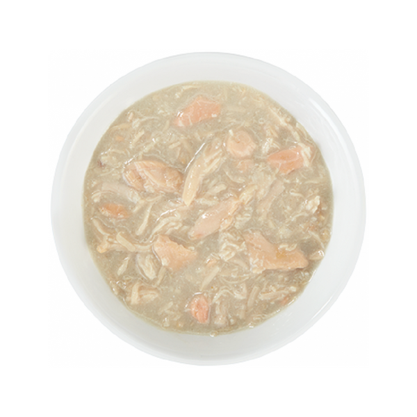 Meaty Dog Bowl - Chicken w/ Salmon Weight : 3oz