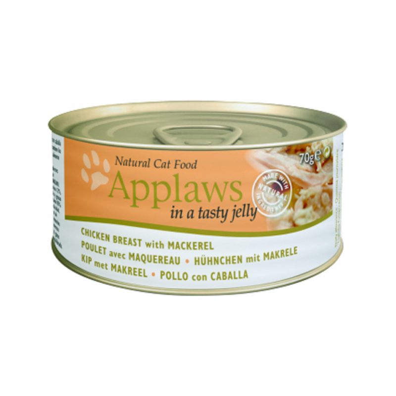 Chicken Breast with Mackerel Jelly, 70g