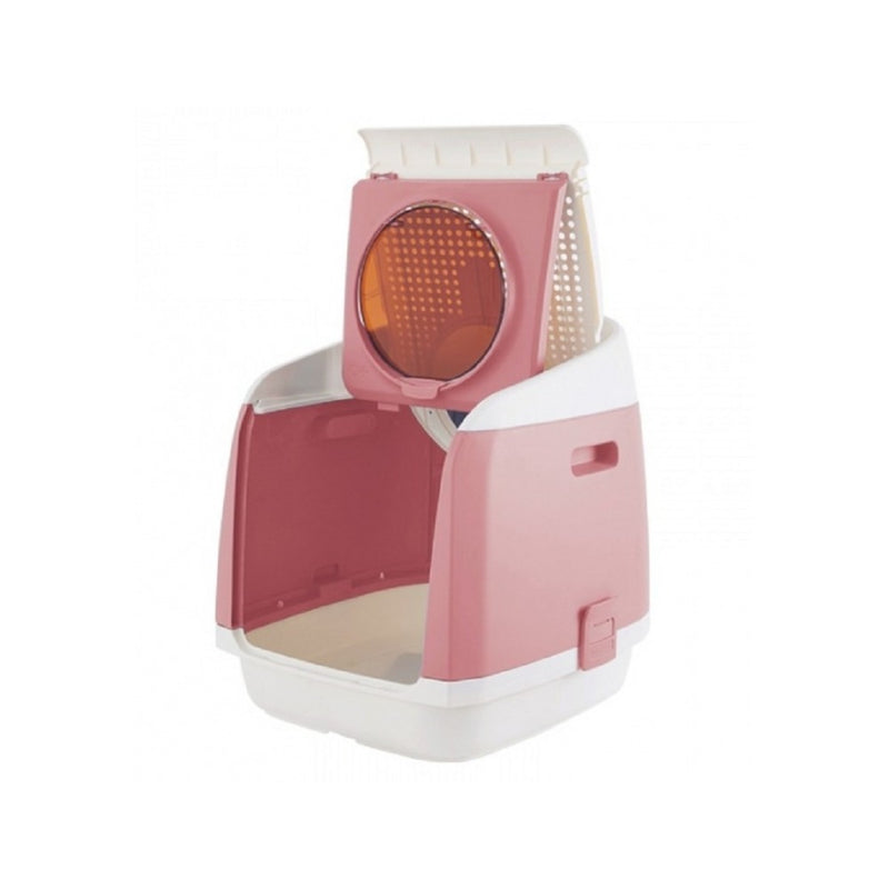 Free Cabin Litter Box, Color: Pink