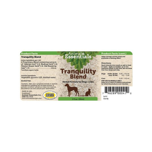Herbal Tranquility Blend, 2oz