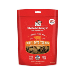 Treats - Freeze Dried Beef Liver, 3oz