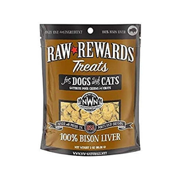 Freeze Dried Bison Liver Treats, 3oz