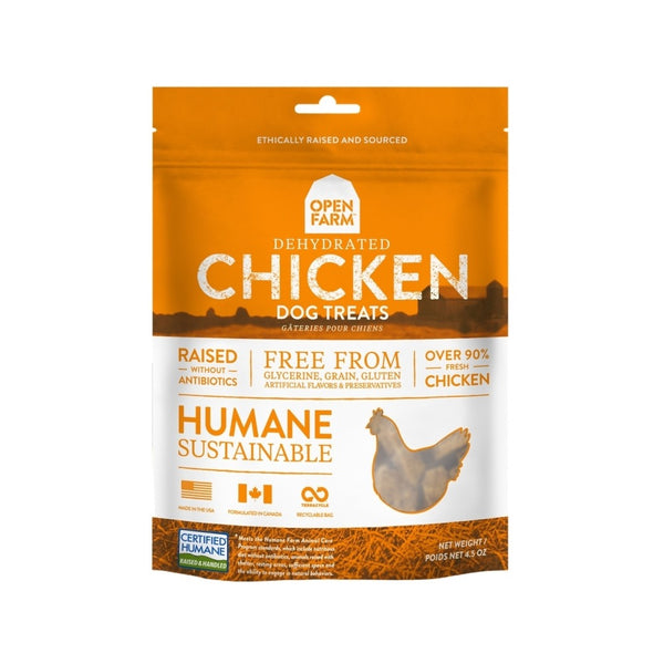 Dehydrated Chicken Treats Weight : 4.5oz