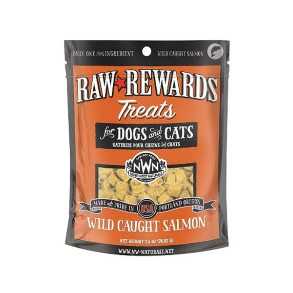 Freeze Dried Salmon Treats, 2.5oz