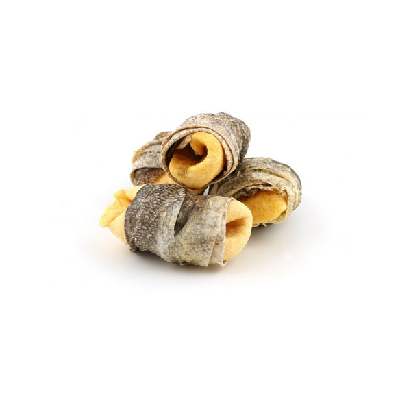 Treats - Sea Wraps Fish & Apple 90g