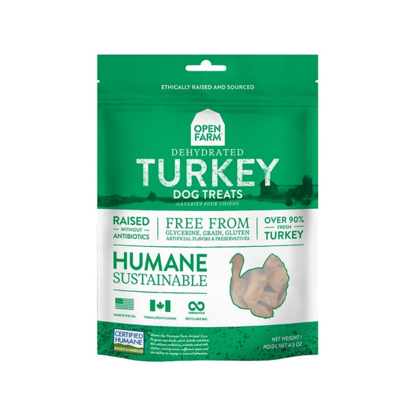 Dehydrated Turkey Treats, 4.5oz
