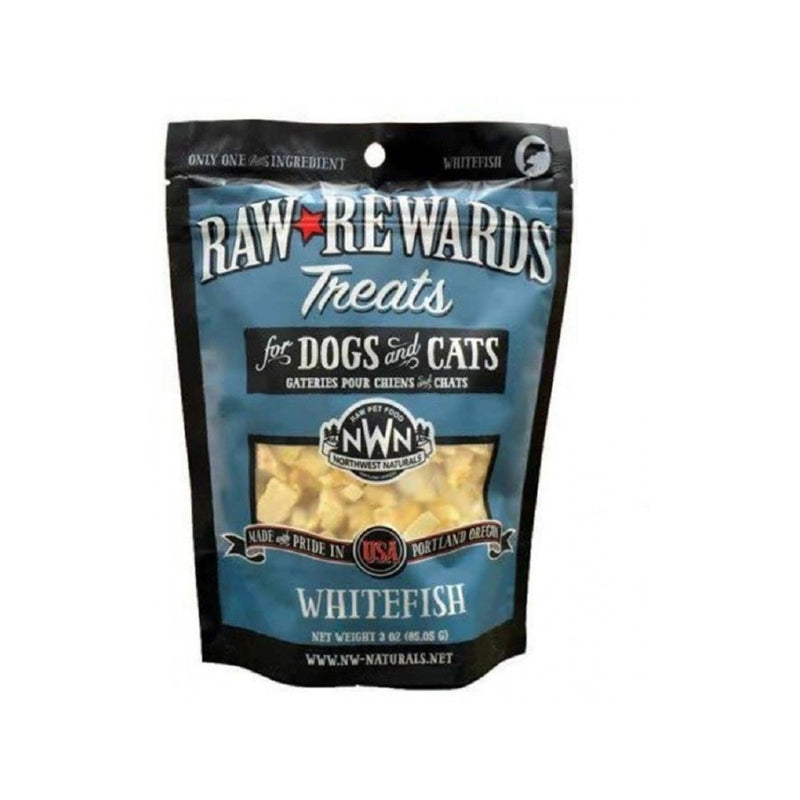 Freeze Dried Whitefish Treats, 2.5oz