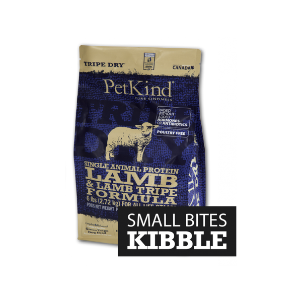Single Protein Lamb & Lamb Tripe Small Bites, 25lb