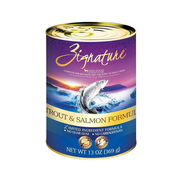 Trout & Salmon LID Canned Formula Weight : 13oz