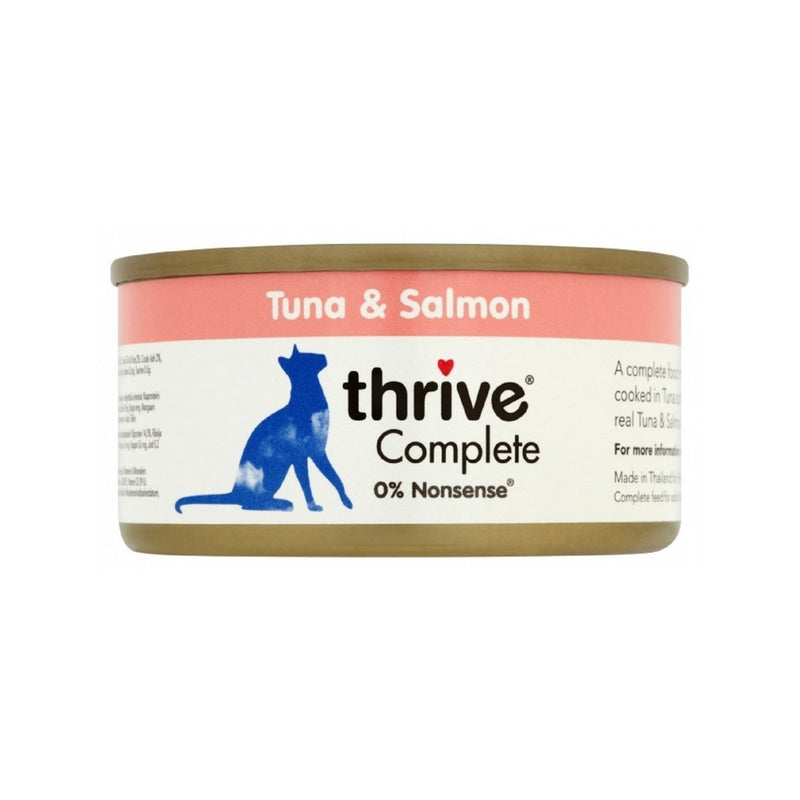 Complete Tuna & Salmon Weight : 75g