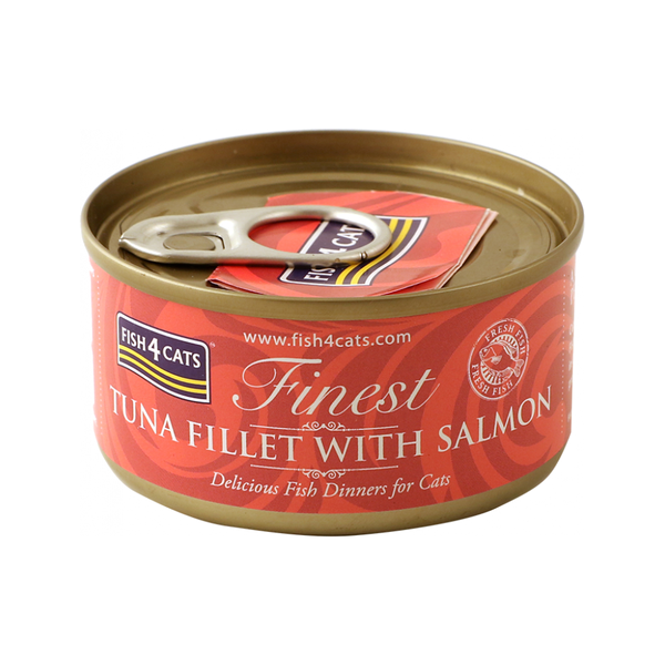 Tuna with Salmon Dinners Box, 10x70g