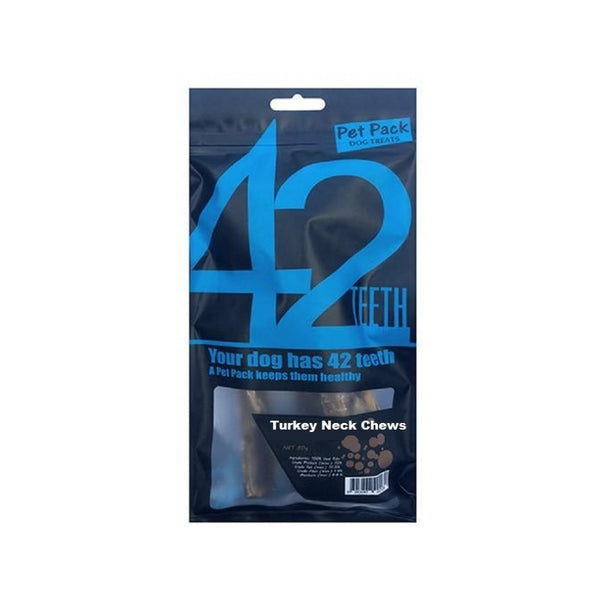 42 Series Treats Turkey Neck Chews, 2pcs