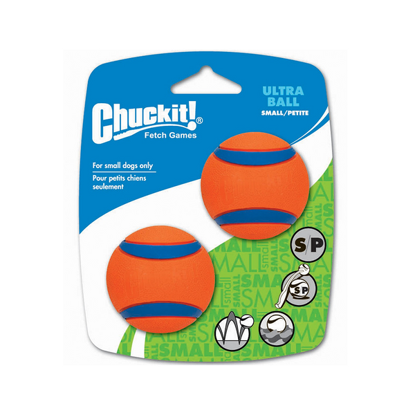 Ultra Balls S 2x - Canine Hardware Chuck It