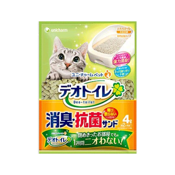 Anti-Bacterial Last for a Month Cat Litter, 4L