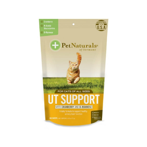 Cat UT Support Chew, 60cts