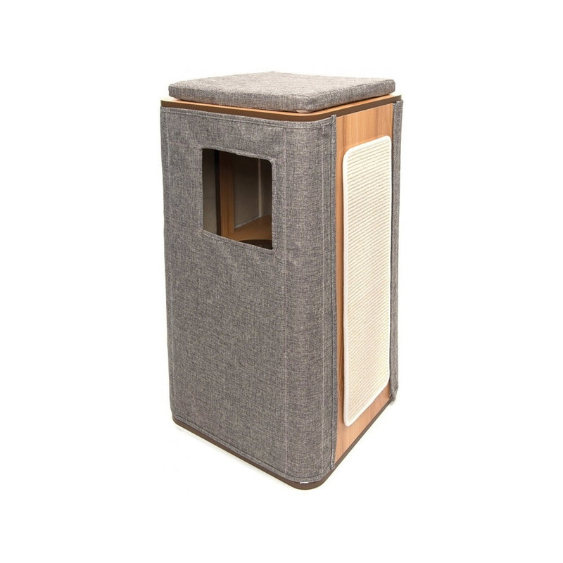 Cubo Tower, Color Stone, Large